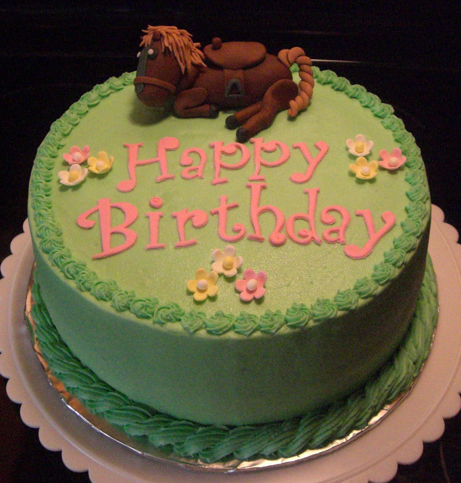 Horse Birthday Cakes Decoration Ideas