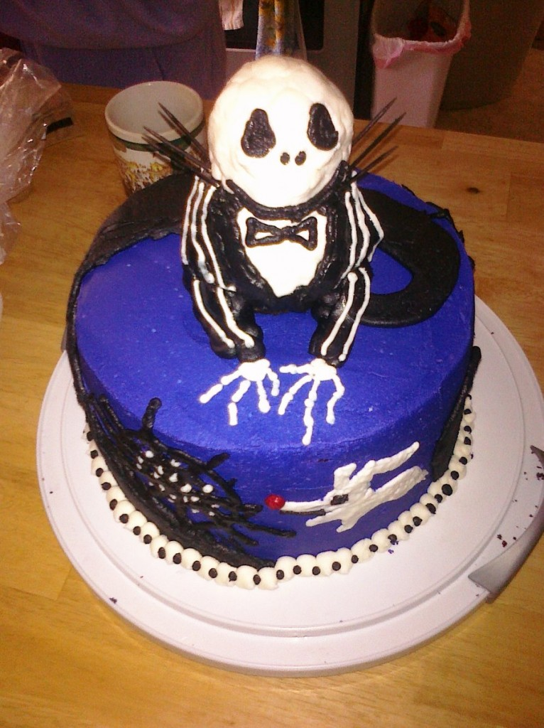 Jack Skellington Cakes  Decoration Ideas  Little Birthday Cakes