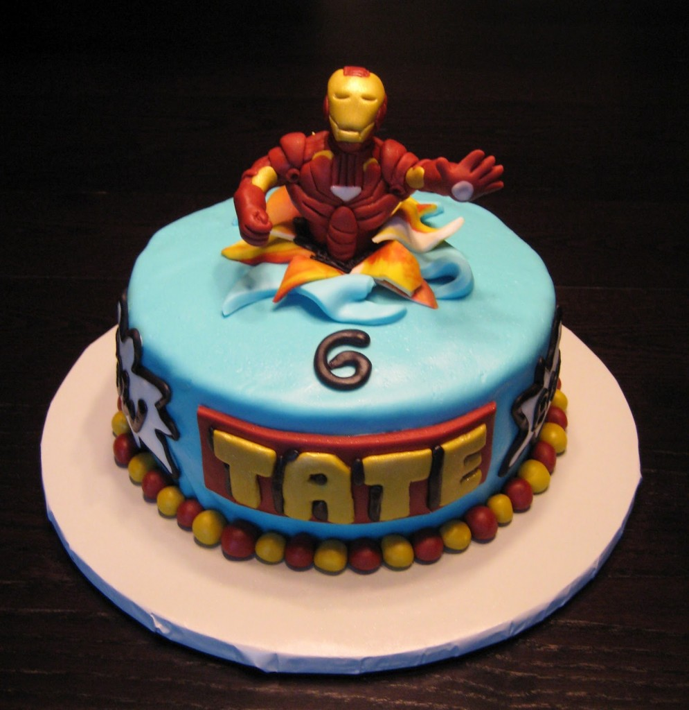 Iron Man Cakes – Decoration Ideas Little Birthday Cakes
