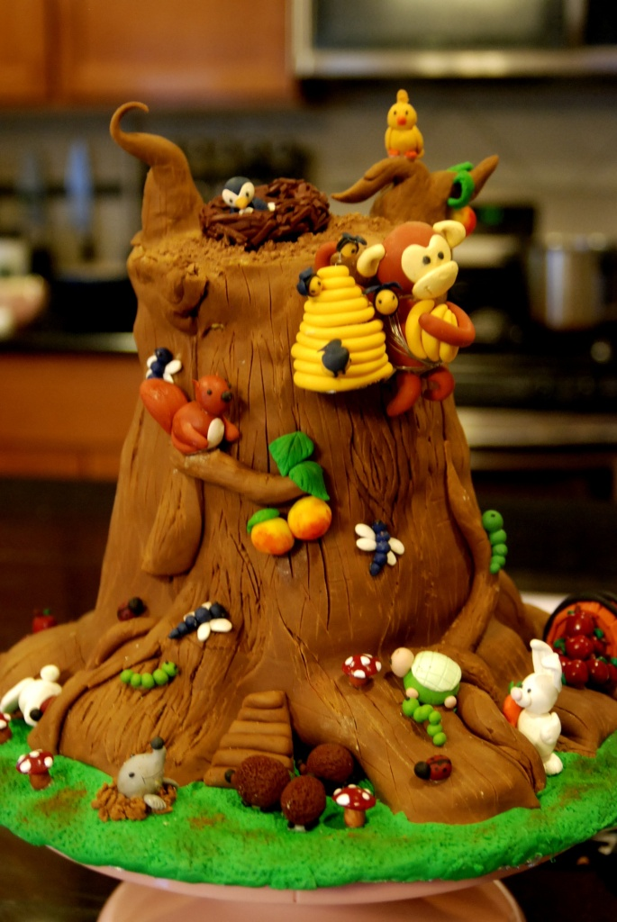 Jungle Cakes Decoration Ideas Little Birthday Cakes