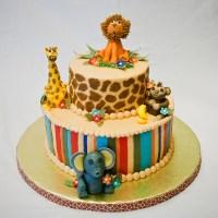 Jungle Cakes  Decoration Ideas