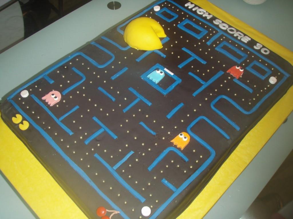 Pacman Cakes Decoration Ideas Little Birthday Cakes