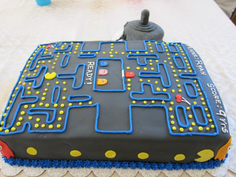 Pictures Of Pacman Cakes Imaganationface