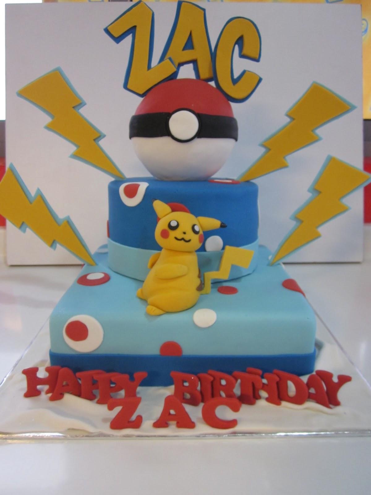 Pikachu Cakes Decoration Ideas