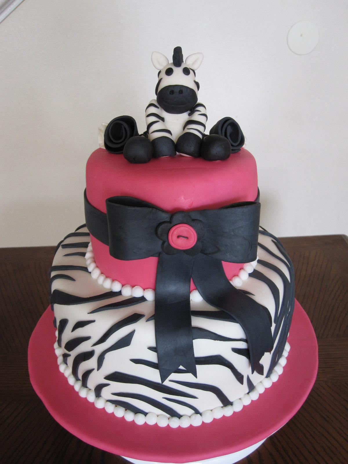 Zebra Cakes Decoration Ideas Little Birthday Cakes