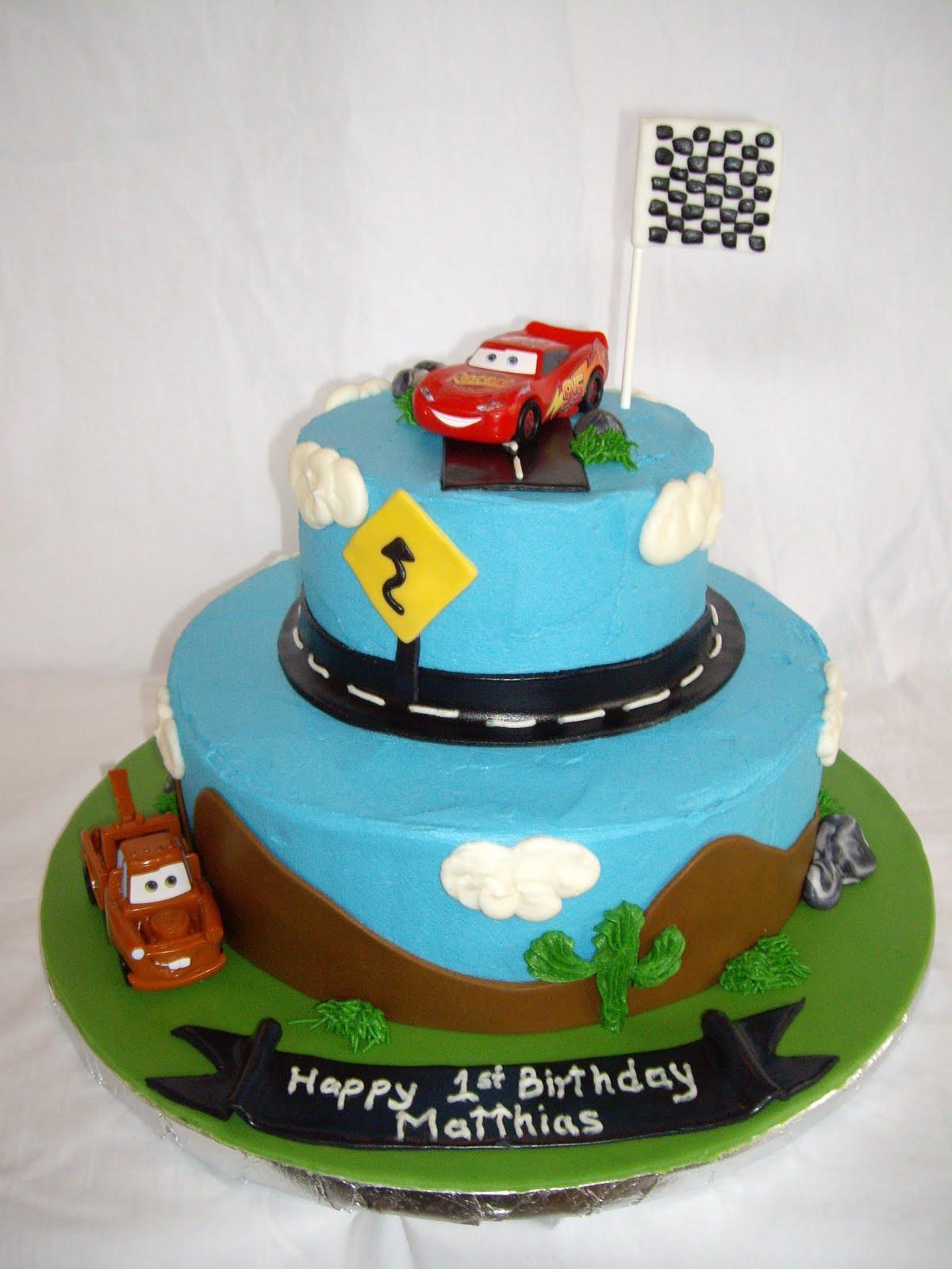 Cars Cakes Decoration Ideas
