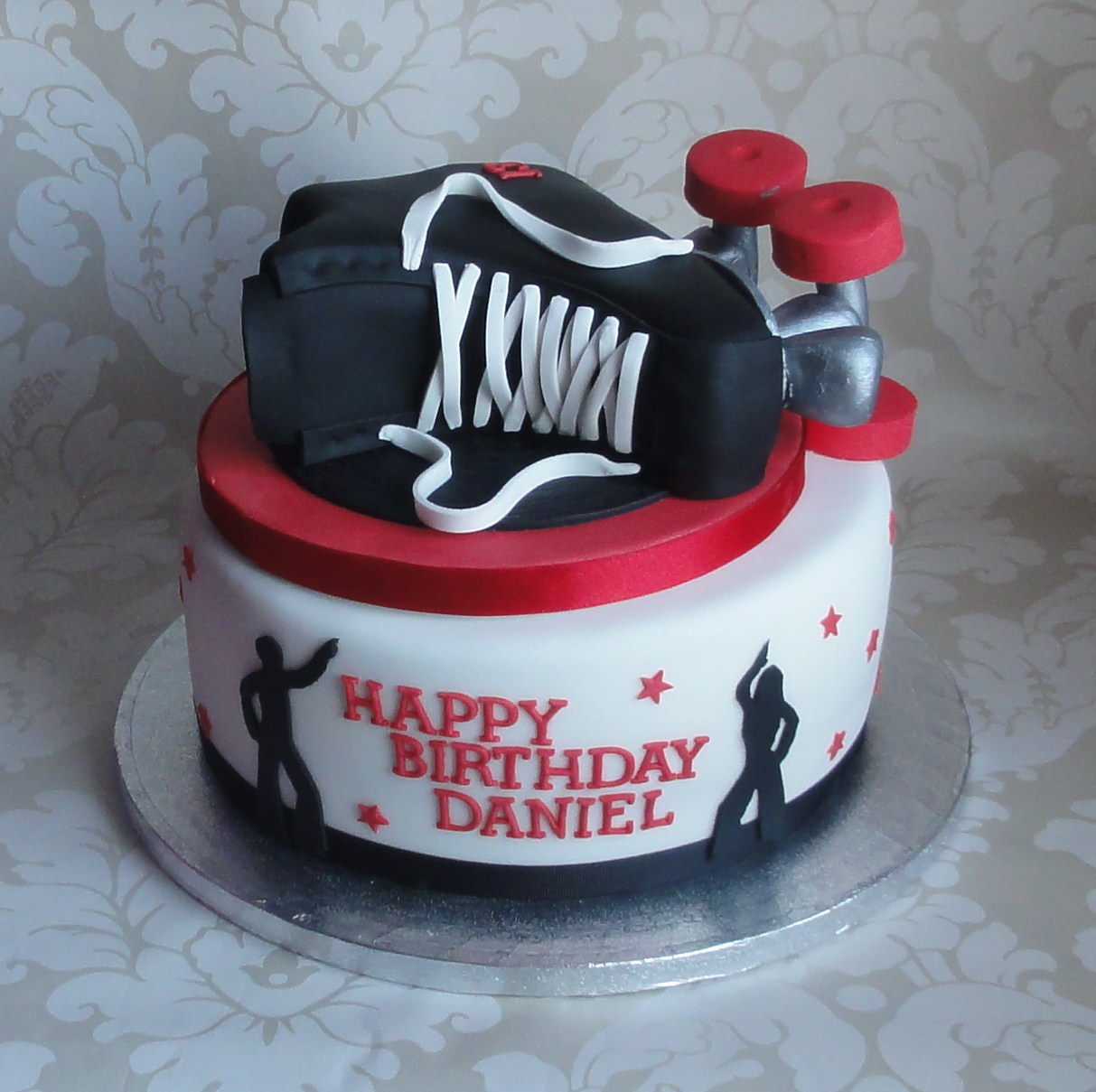 Roller Skate Cakes Decoration Ideas Little Birthday Cakes