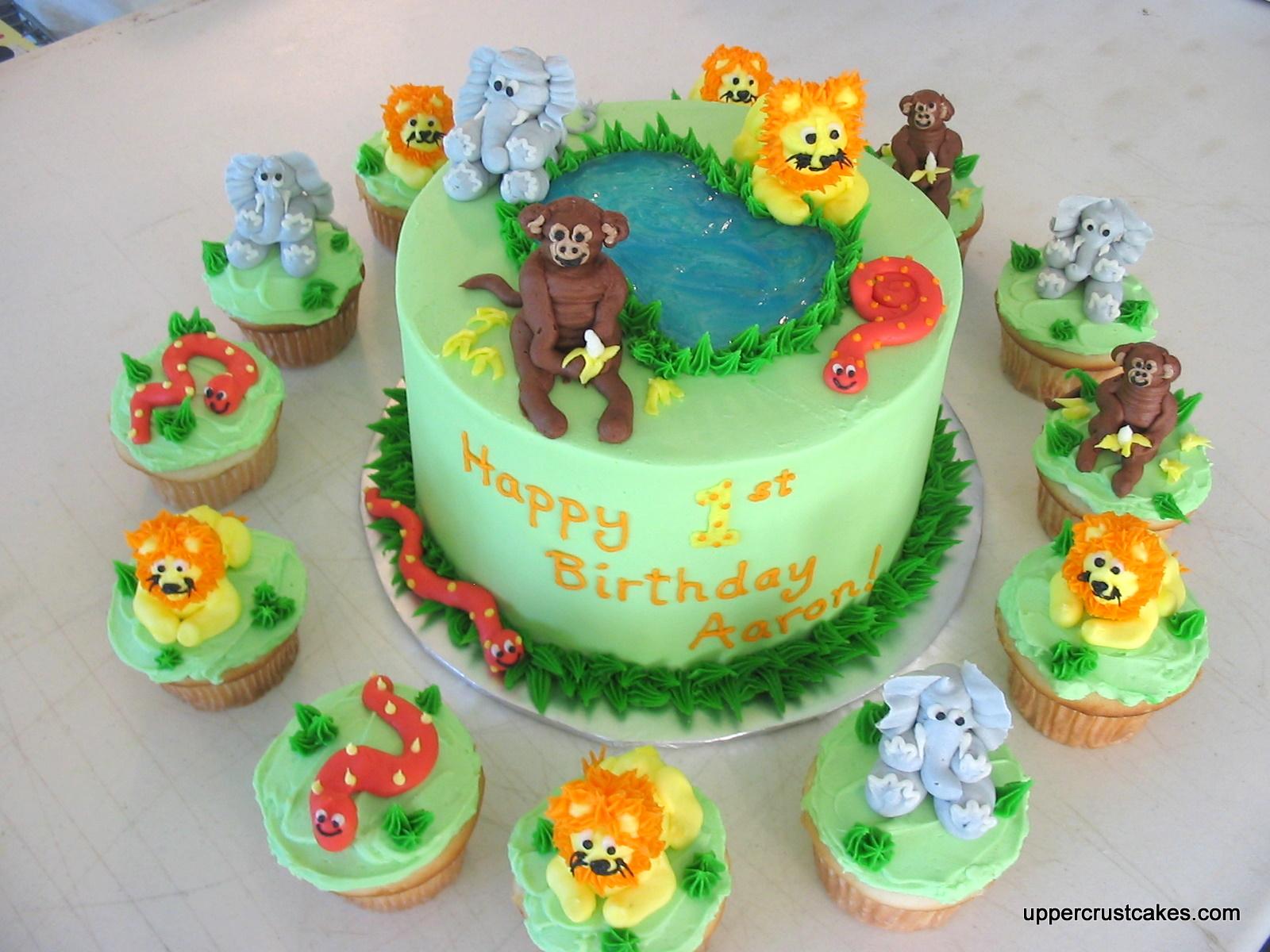 Safari Cakes Decoration Ideas
