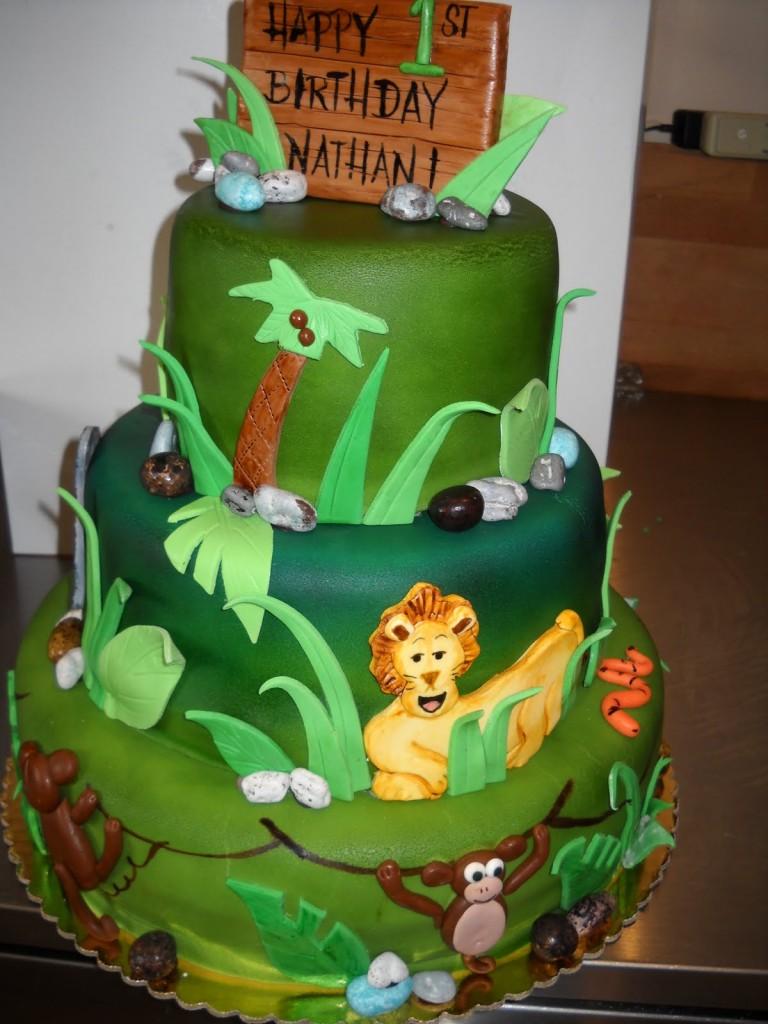 Safari Cakes Decoration Ideas Little Birthday Cakes