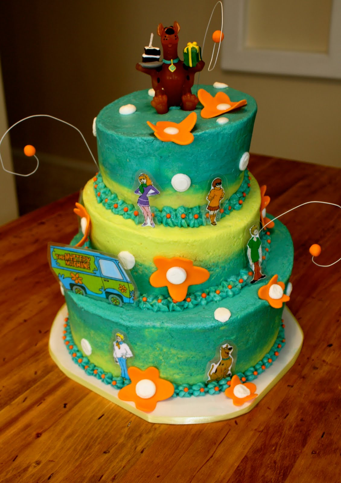 Scooby Doo Cakes Decoration Ideas Little Birthday Cakes