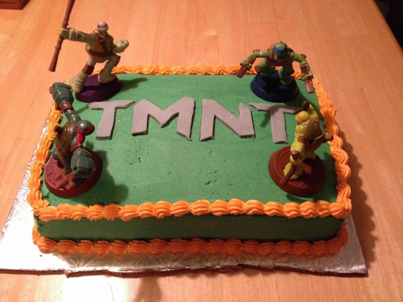 Teenage Mutant Ninja Turtles Cake Ideas