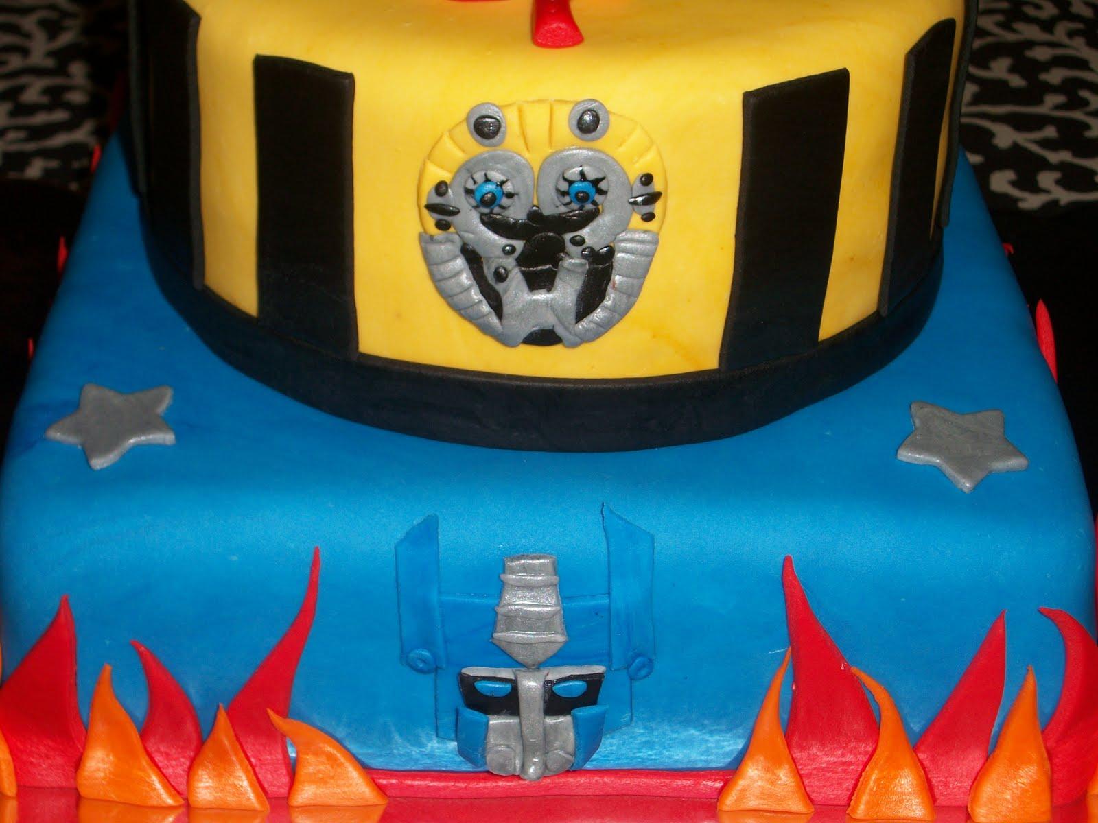 Transformer Cakes Decoration Ideas
