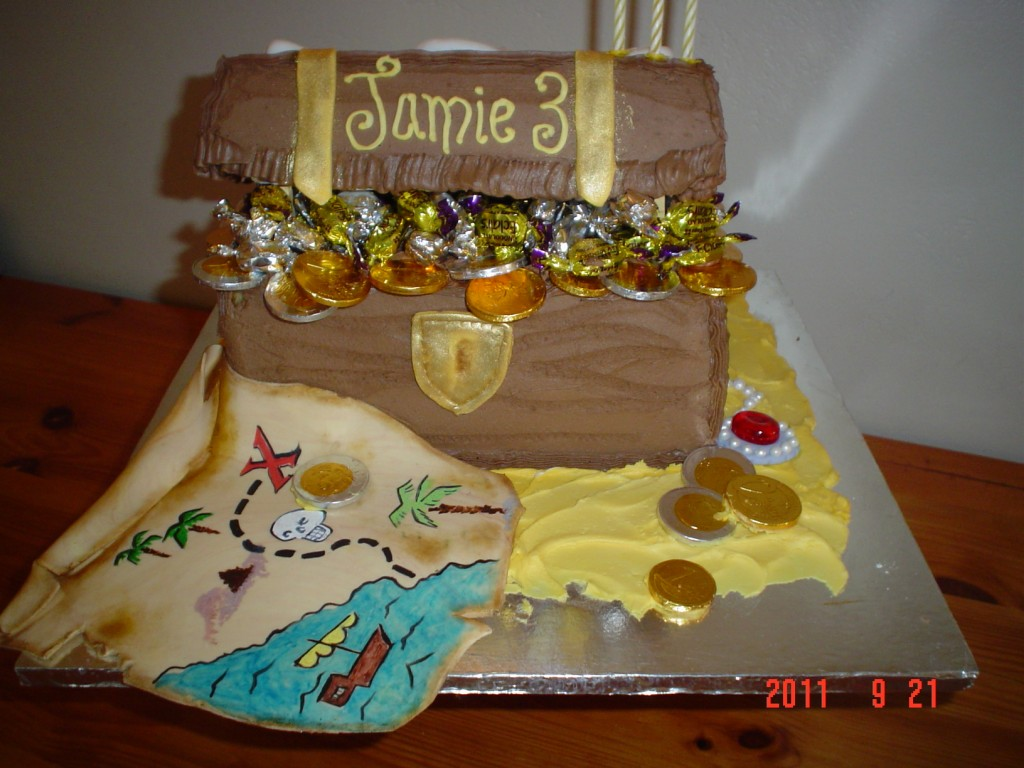 Treasure Chest Cakes  Decoration Ideas  Little Birthday Cakes