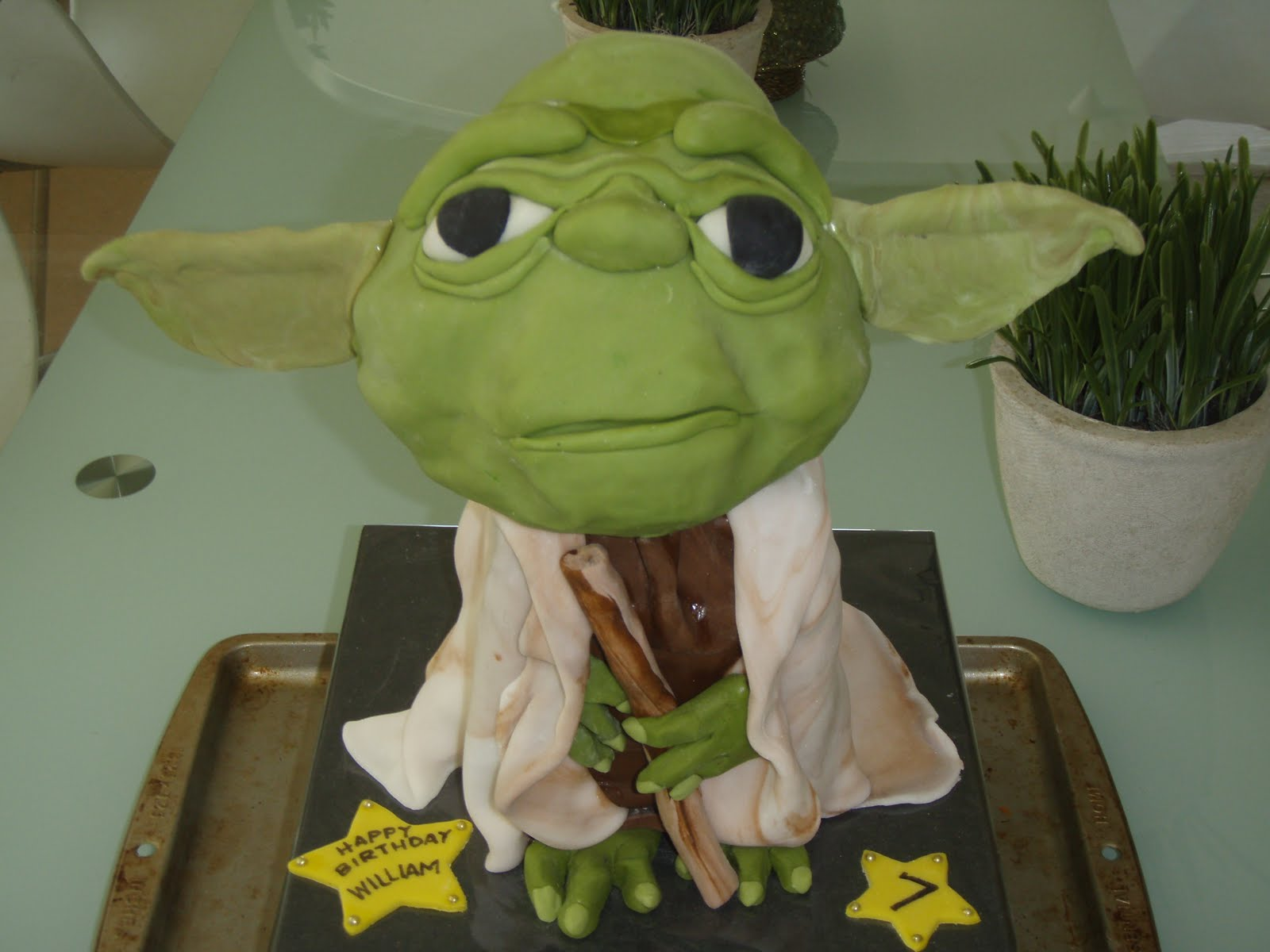 Yoda Cakes Decoration Ideas Little Birthday Cakes