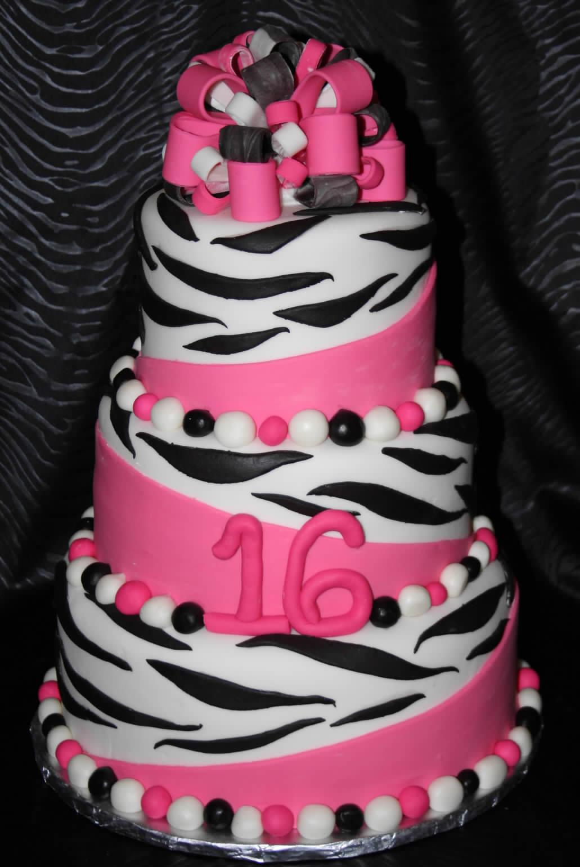 Zebra Cakes Decoration Ideas