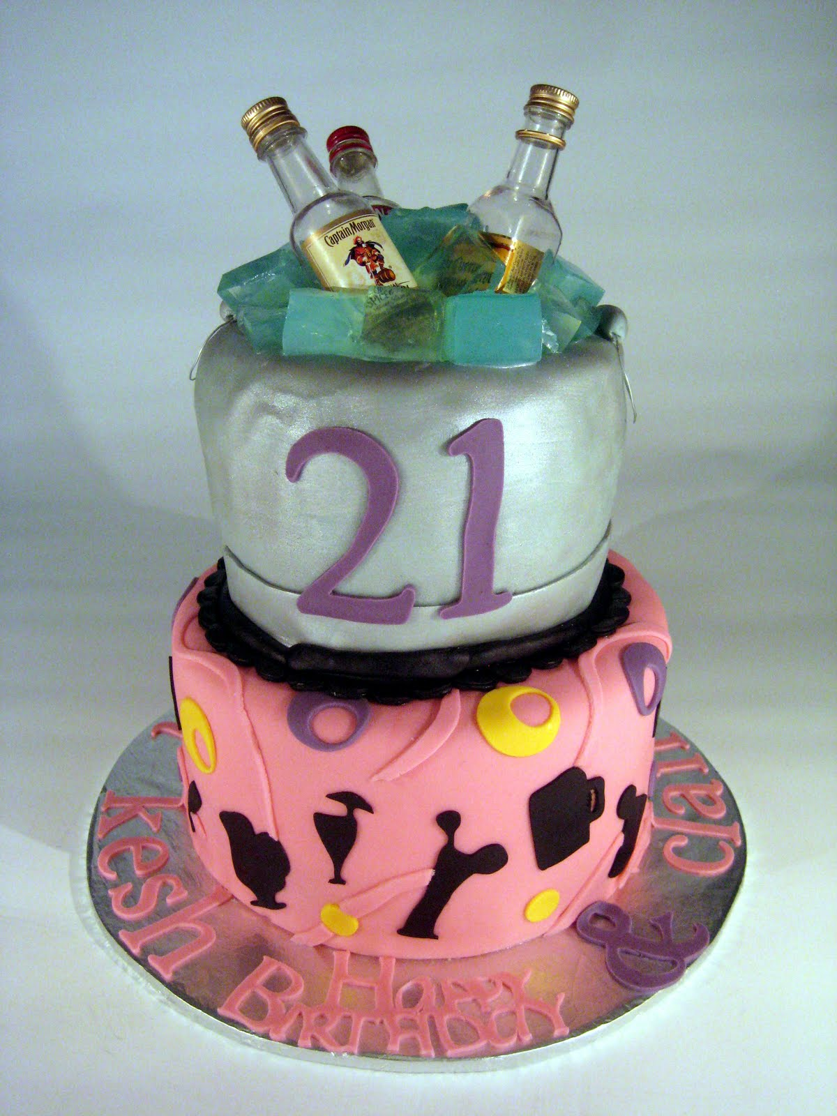 21st Birthday Cakes Decoration Ideas
