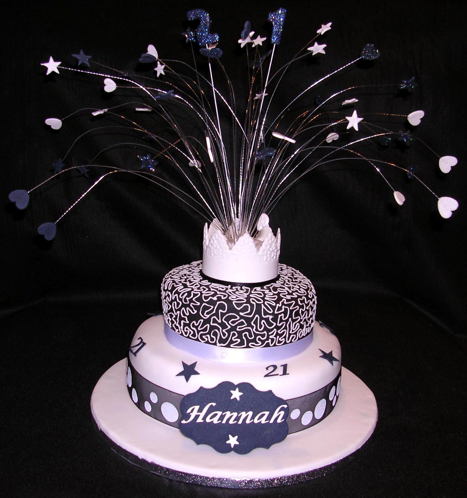 21st Birthday Cakes Decoration Ideas