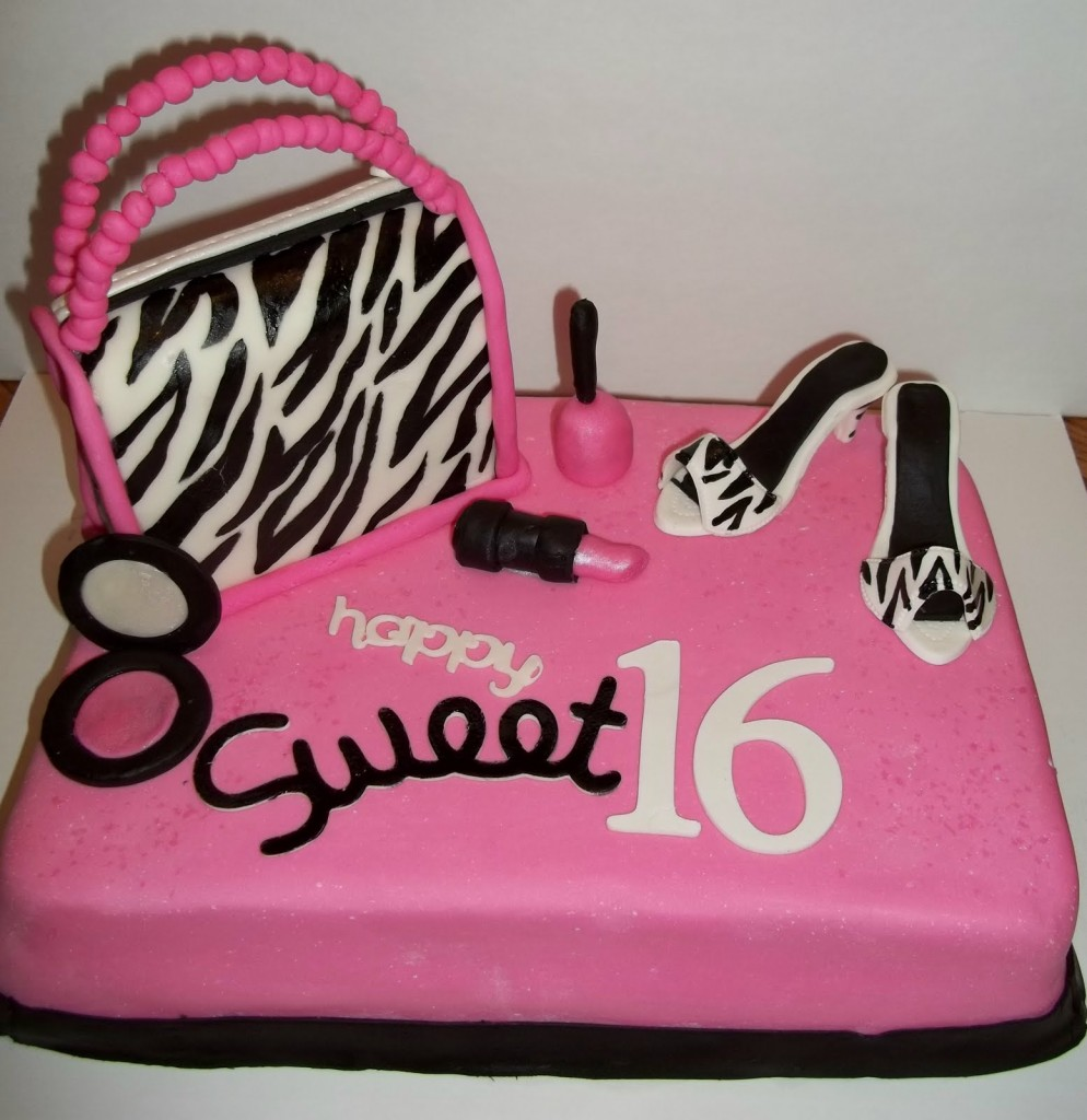 sweet 16 cakes decoration