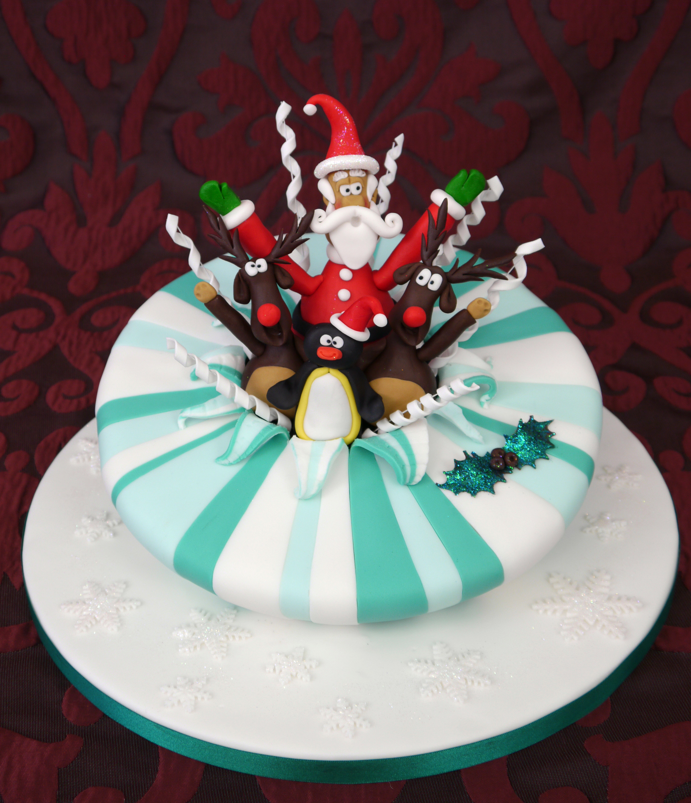 Christmas Cake Ideas Decorating