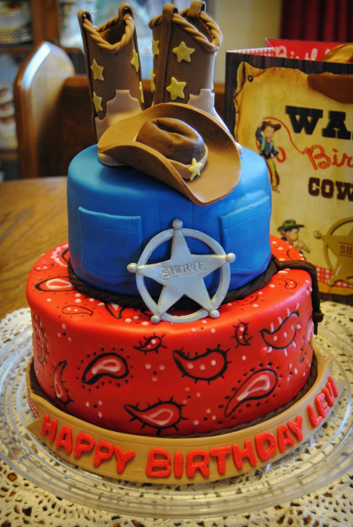 Cowboy Cakes Decoration Ideas