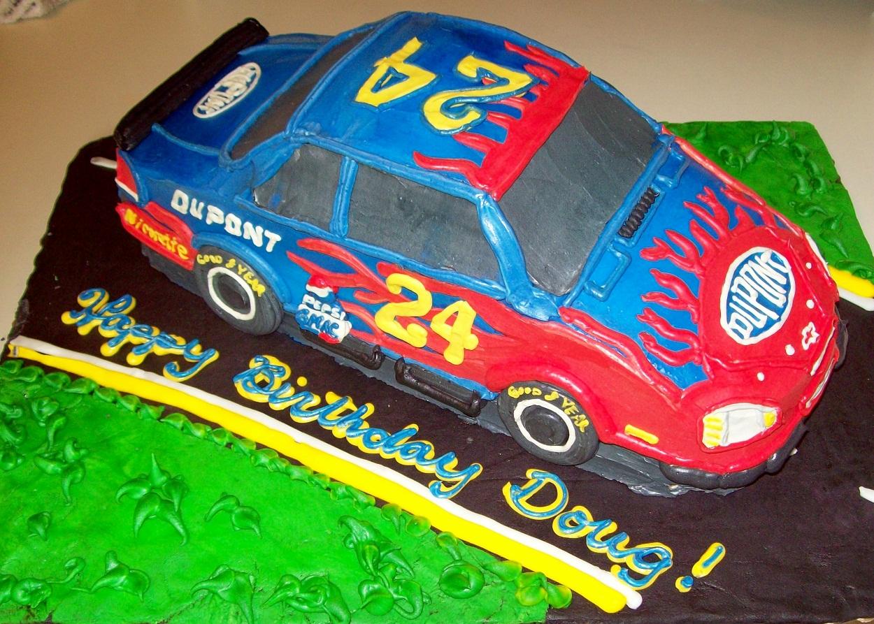 Nascar Cakes Decoration Ideas