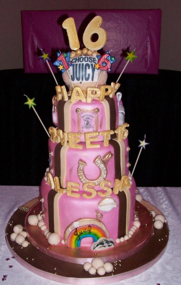 Sweet 16 Cakes Decoration Ideas Little Birthday
