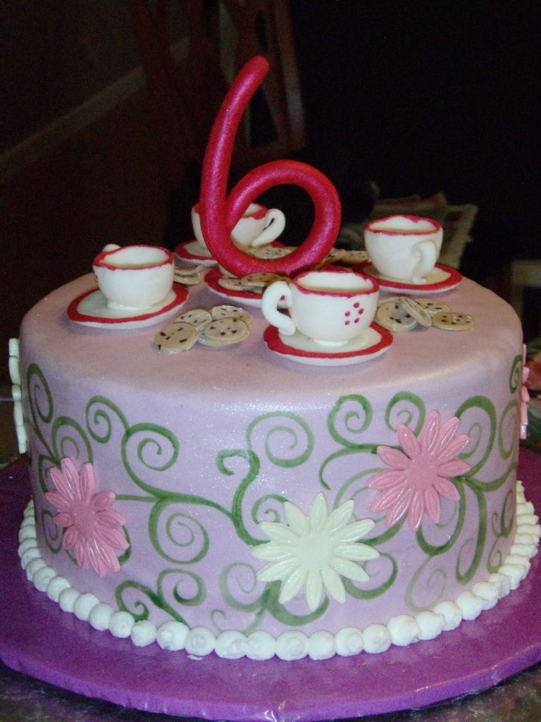 Tea Party Cakes  Decoration Ideas  Little Birthday Cakes