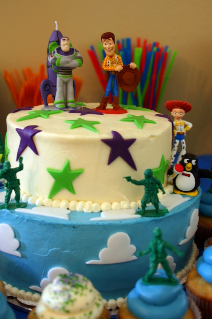 Toy Story Birthday Cake