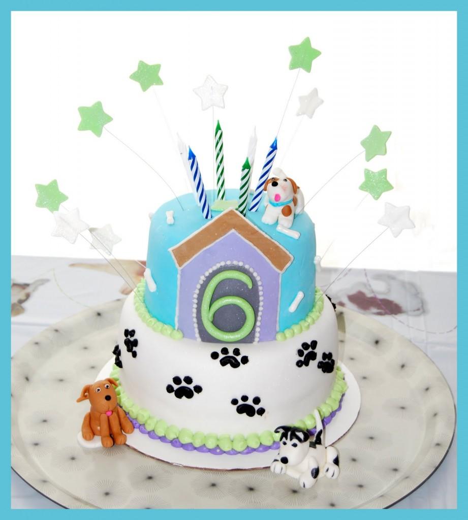 Puppy Cakes Decoration Ideas Little Birthday Cakes