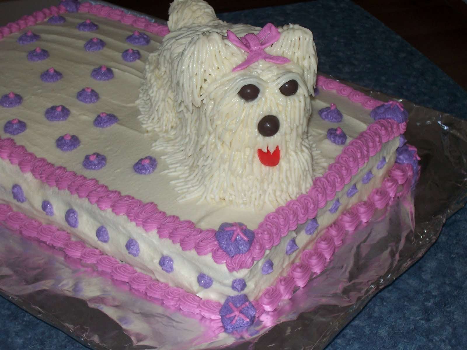 Puppy Cakes Decoration Ideas