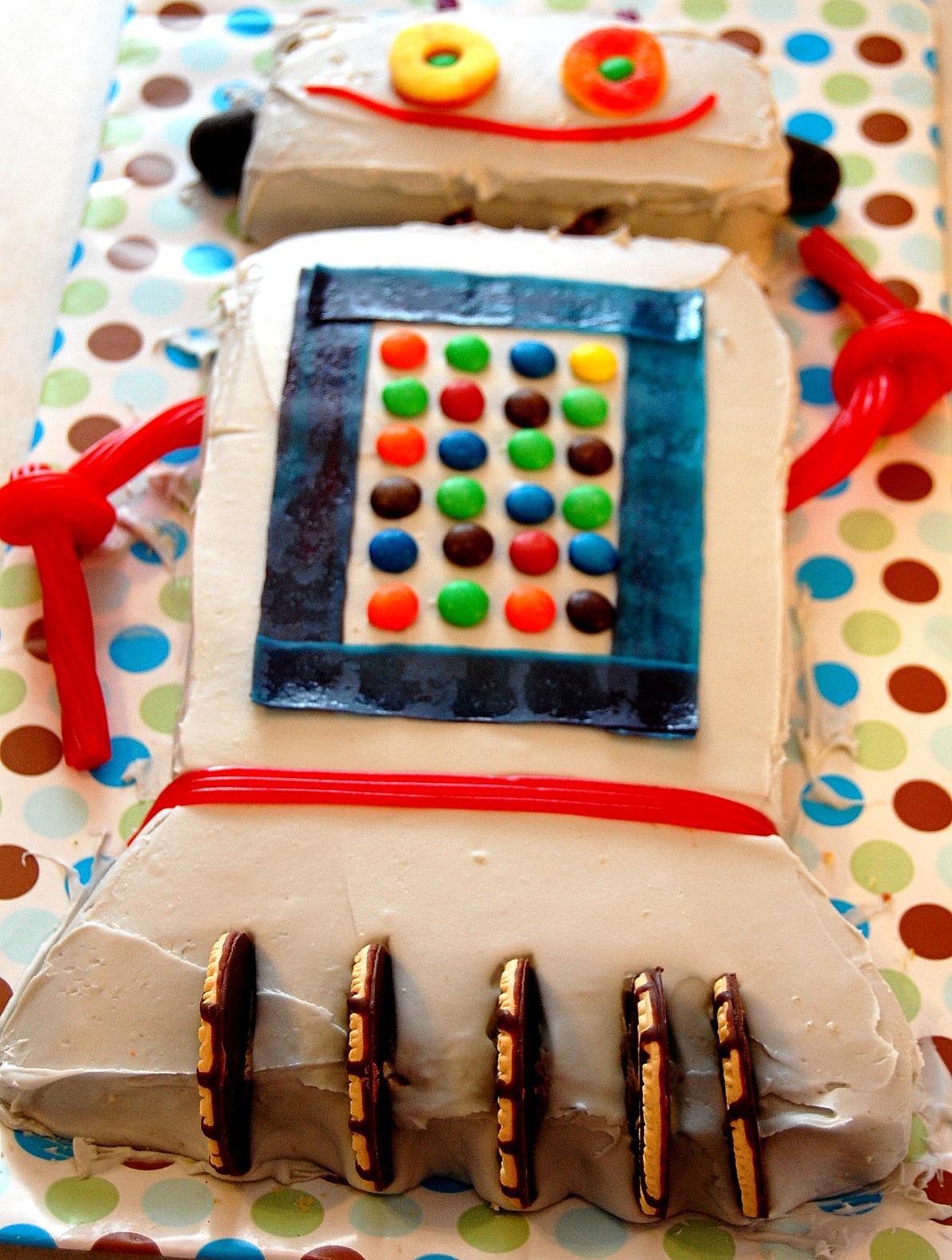 Robot Cake  Decoration Ideas  Little Birthday Cakes