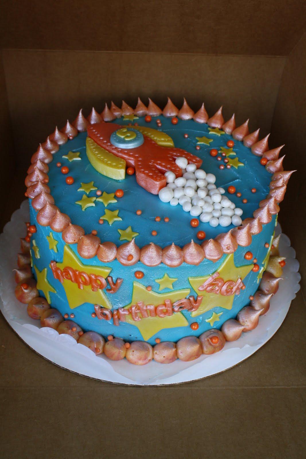Rocket Ship Cakes  Decoration Ideas  Little Birthday Cakes