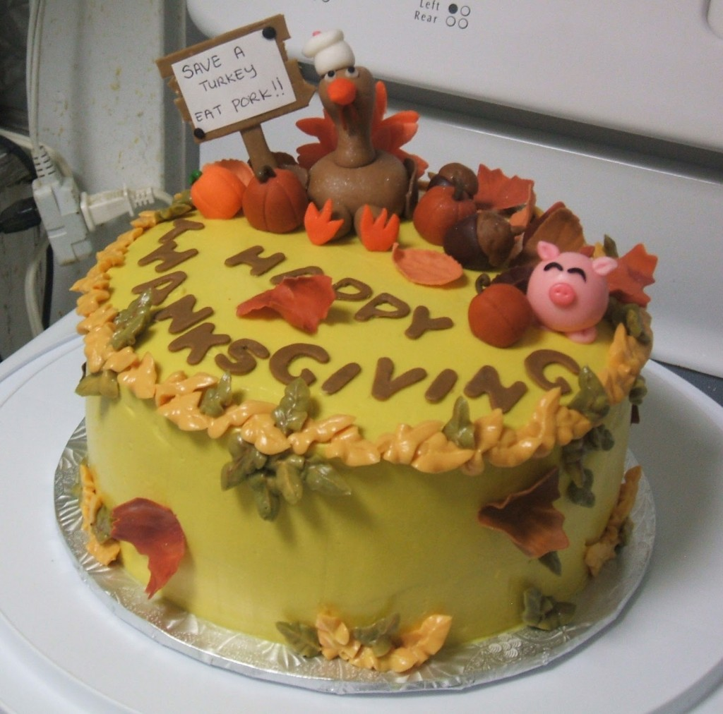 Thanksgiving Cakes  Decoration Ideas  Little Birthday Cakes