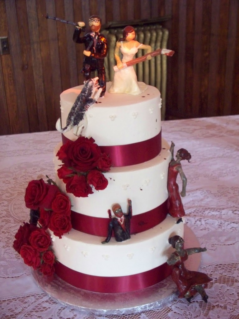 Zombie Wedding Cakes  Decoration Ideas  Little Birthday Cakes