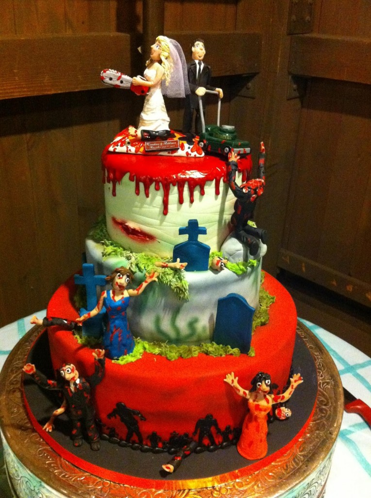 Zombie Wedding Cakes Decoration Ideas Little Birthday