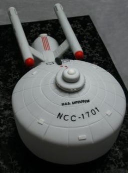 Star Trek Cakes  Decoration Ideas  Little Birthday Cakes