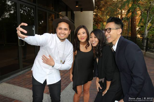 Travis Atreo, Ally Maki, Victoria Park, Chris Dinh at the premiere of Everything Before Us at LAAPFF 2015