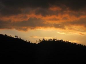 Sunset in Punakha, Bhutan
