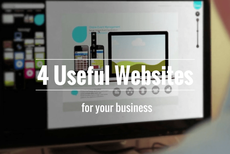 4 Useful websites for your business