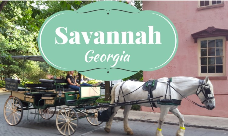 savannah georgia- travel to this charming historic town