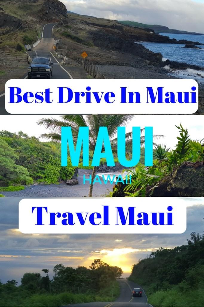 Best Drive in Maui Pinterest Pin