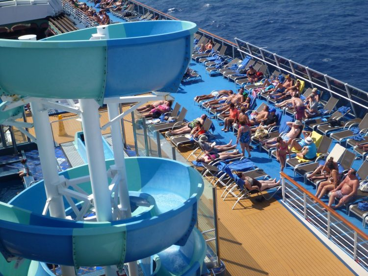 Great ways to travel! Relax and Lounge as the cruise ship takes you across the world.