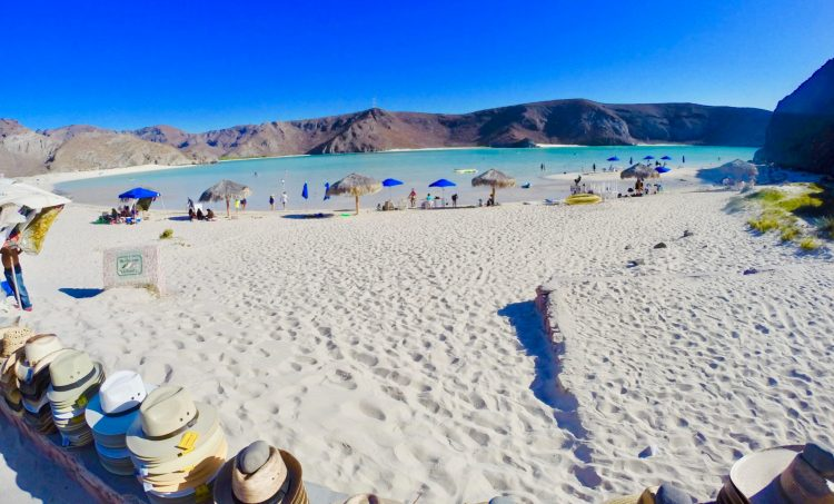 First Impression of Balandra Beach, La Paz Mexico