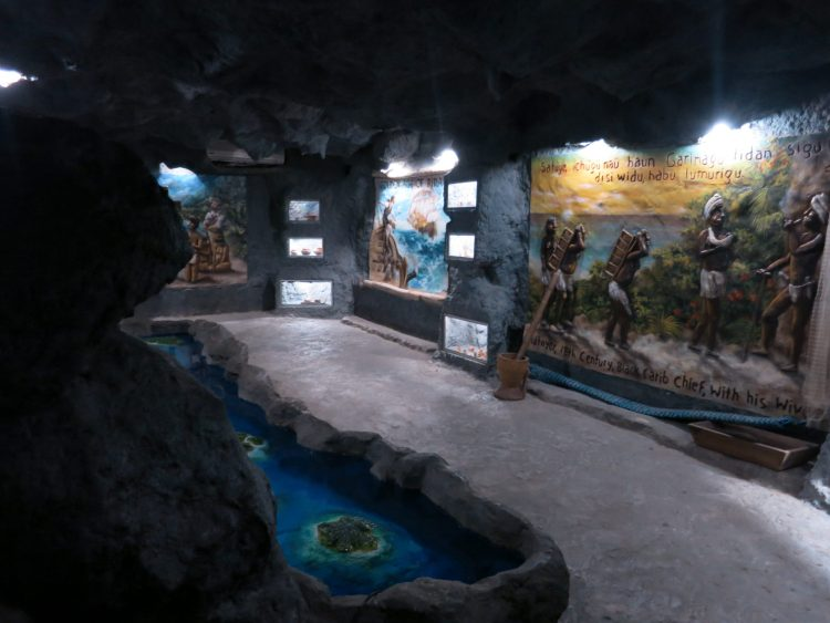 Man made cave at Gumbalimba.