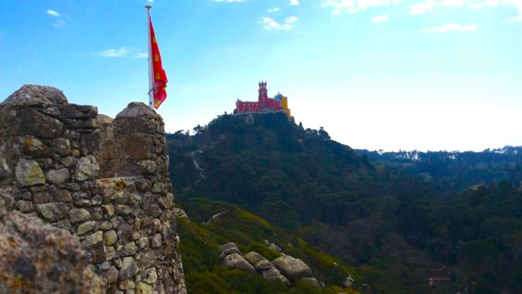 Across from the castle, is the famous Pena Palace - considered one of the great wonders of Portugal