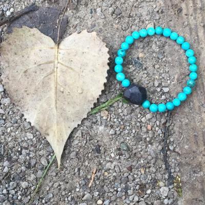 wrist-turquoise-and-garnet