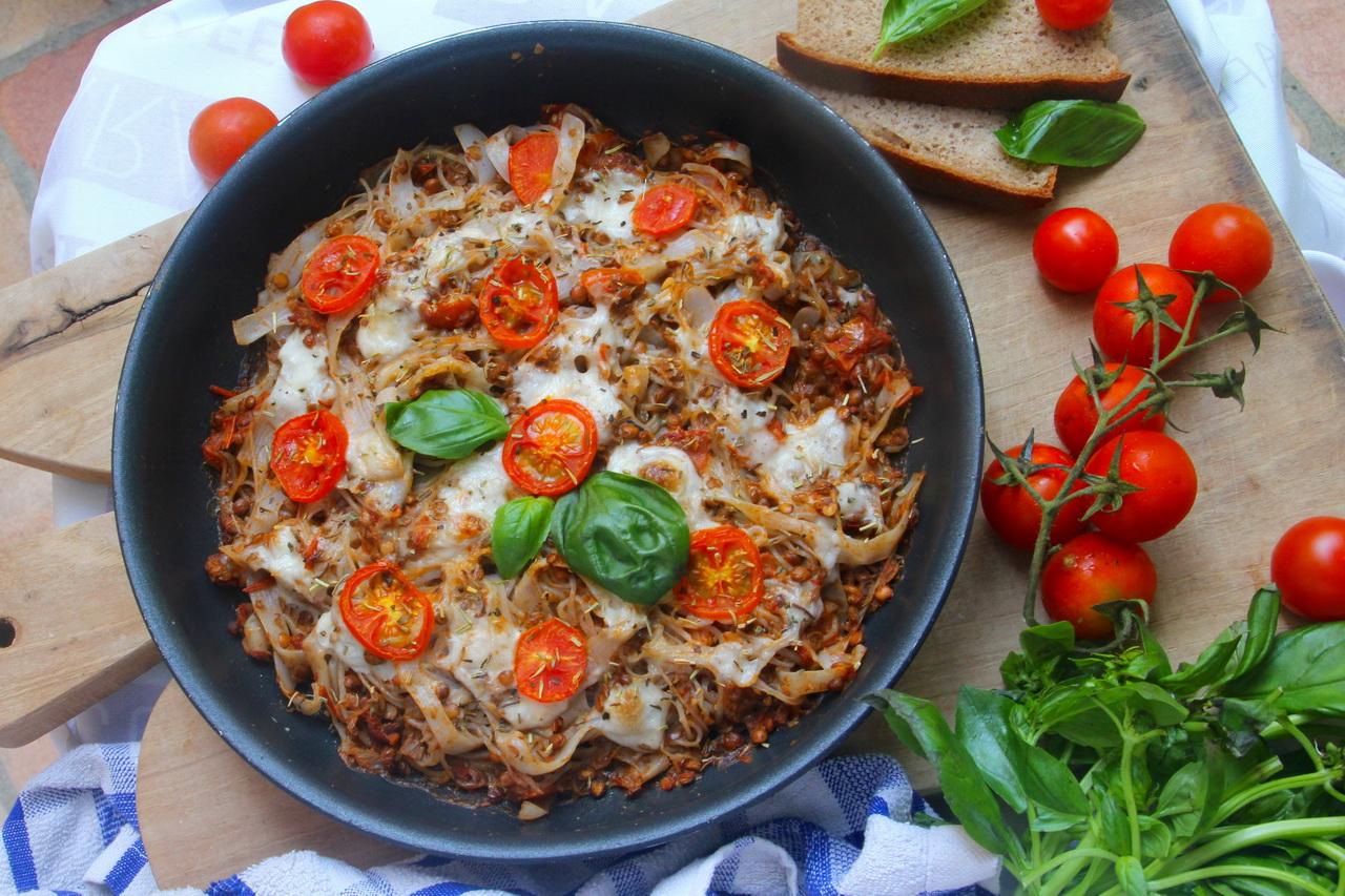 Vegetarian Baked Pasta (Gluten & Dairy Free)
