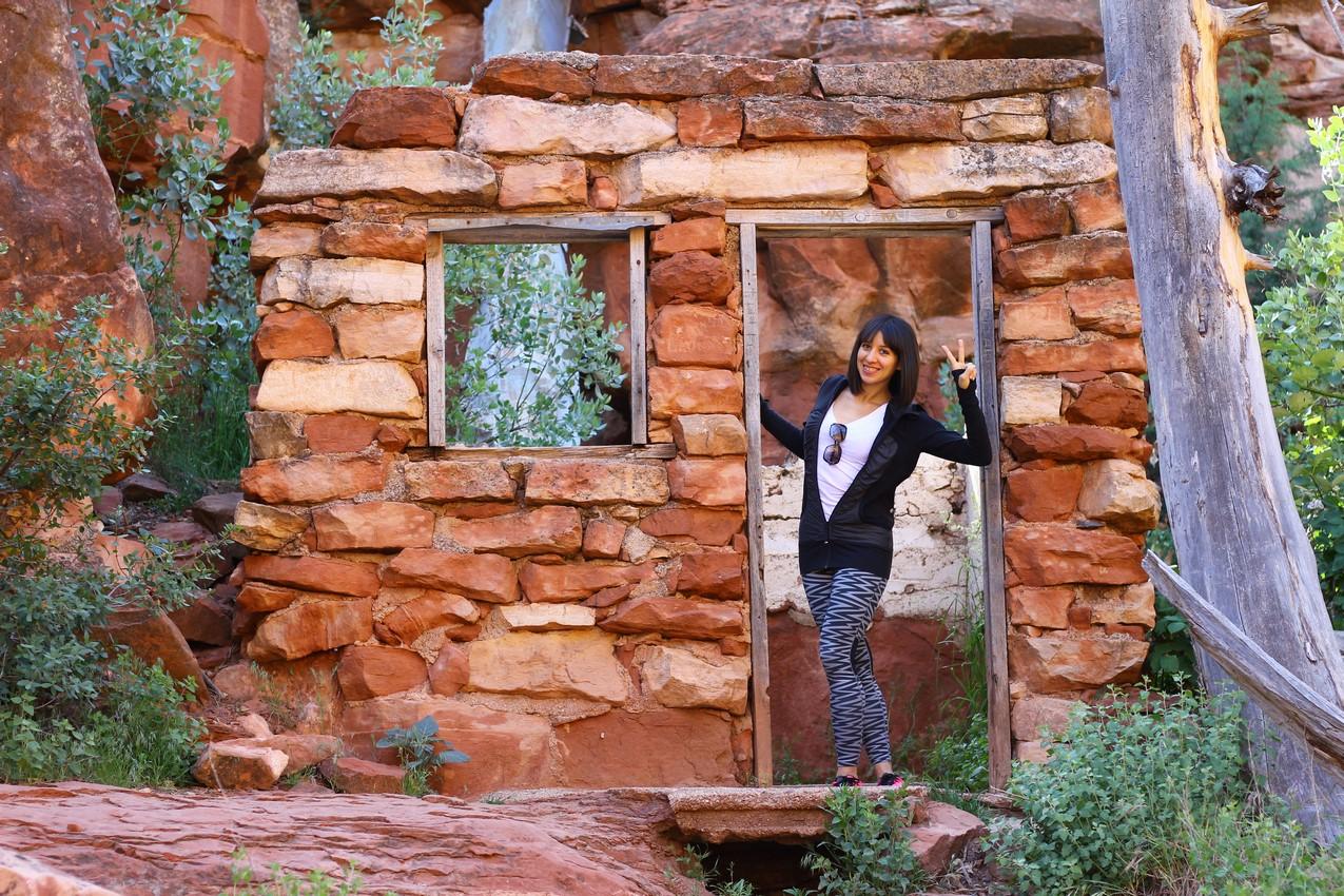 Ambra at Slide Rock