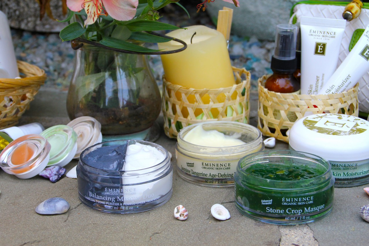 natural evening skincare routine