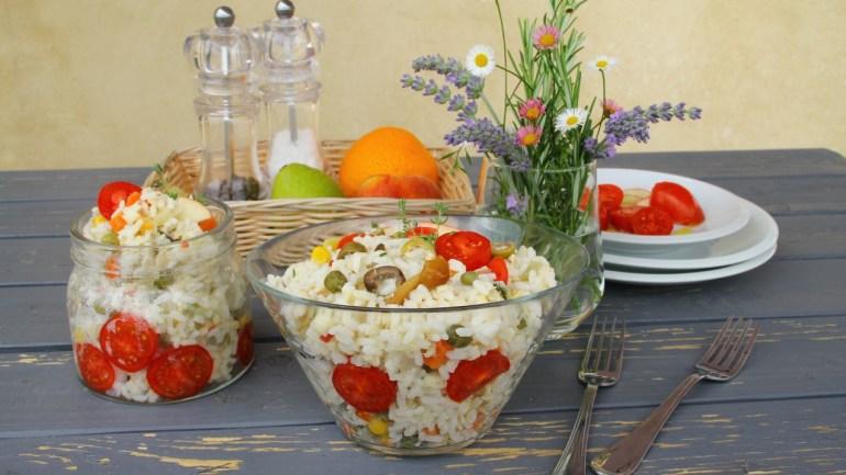"""Riso Freddo"" {Italian Rice Salad}"